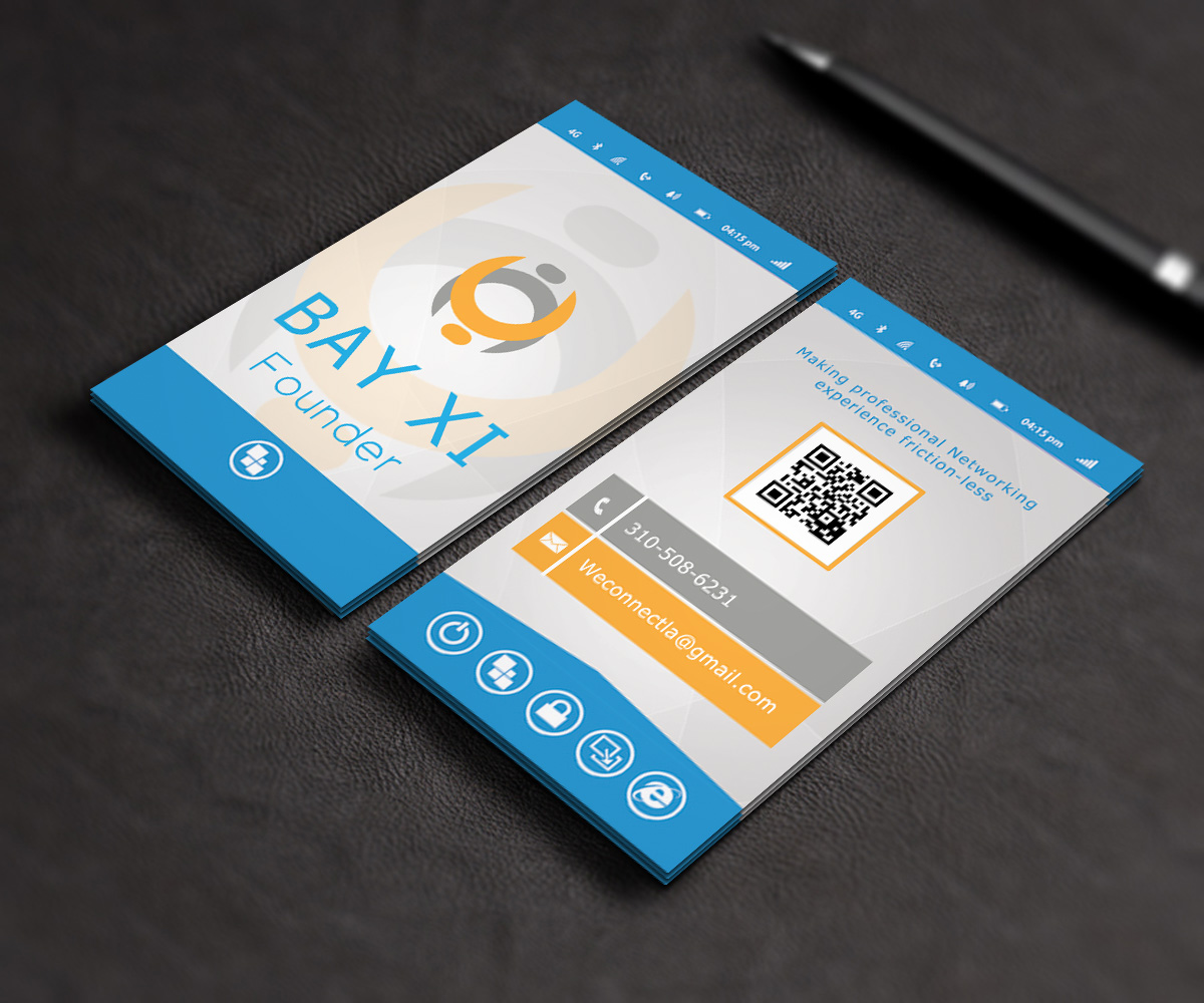 Professional Modern Business Card Design by Stream