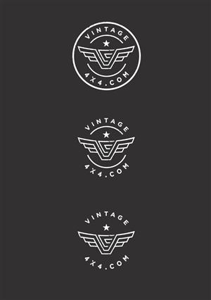 Logo Design For Vintage Cruiser Co By Rama DomTM
