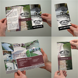 Brochure Design by full_lord - Need a landscaping/interlocking brochure design