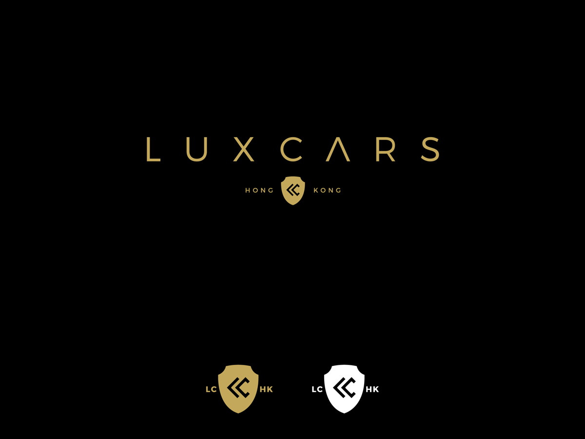 Professional Upmarket Logo Design For LuxCars By