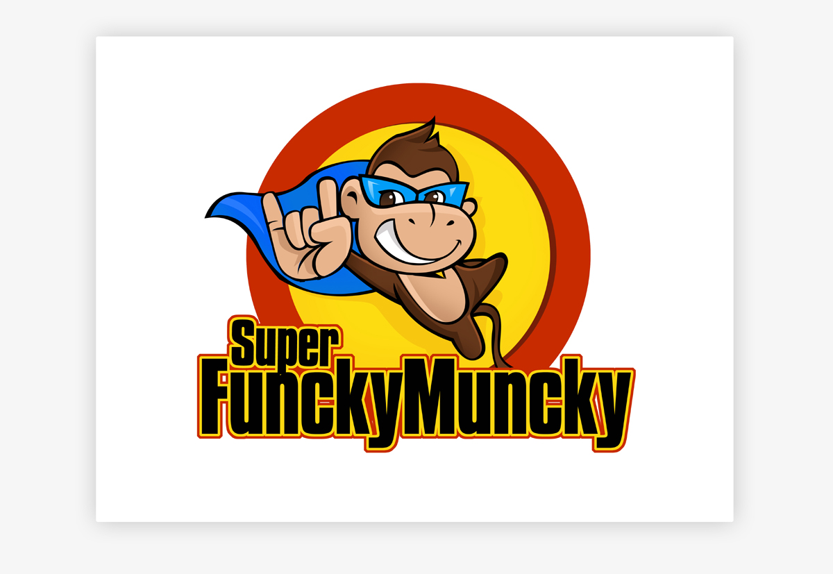 Super Funcky Muncky Logo by pinky
