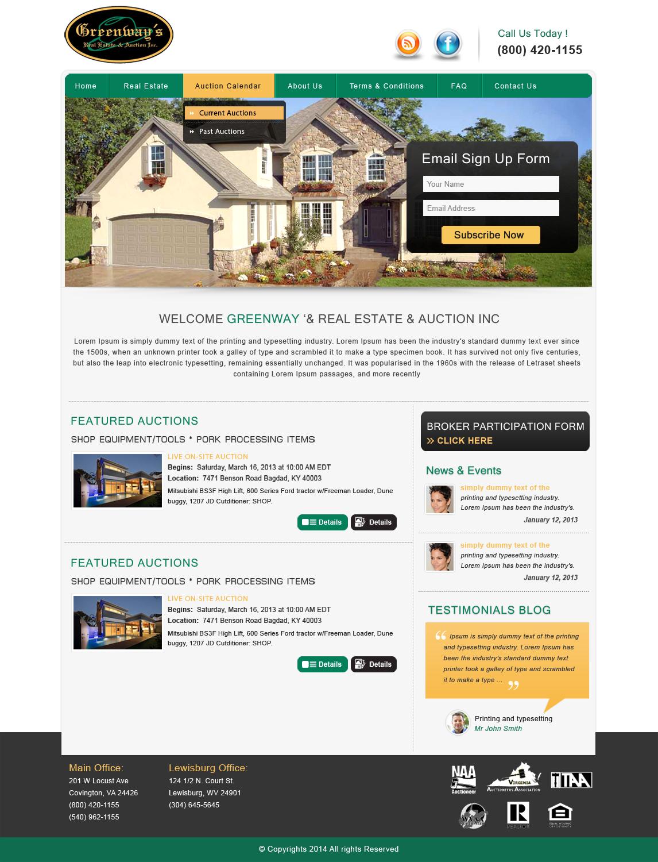 Professional masculine it company web design for for Masculine web design