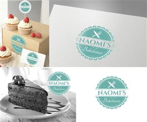 Naomi's Bakehouse  | Logo Design by Ena