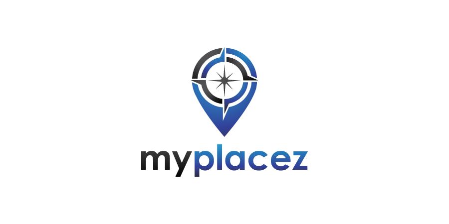 Elegant, Playful, Android Logo Design for myplacez by