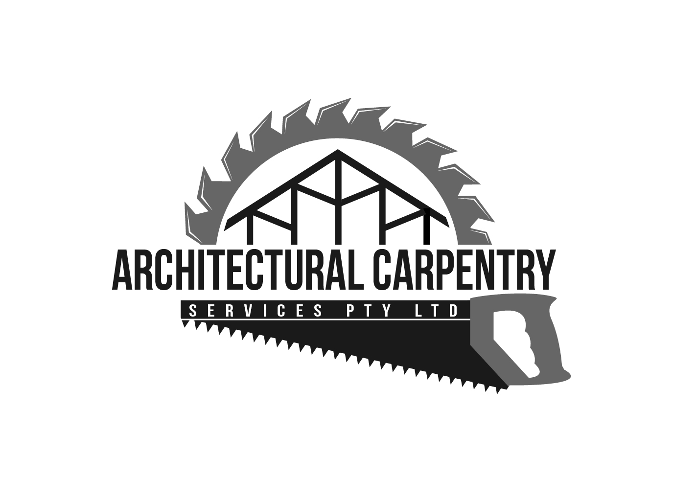 residential logo design for architectural carpentry services pty ltd by hih7 design 6092493. Black Bedroom Furniture Sets. Home Design Ideas