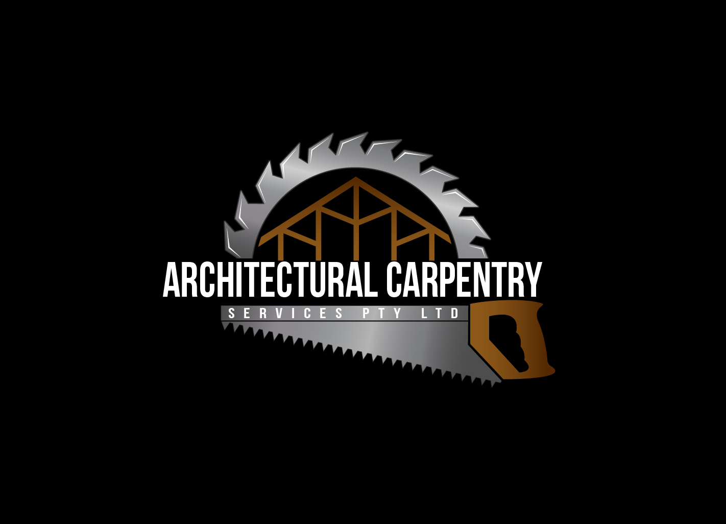 Residential Logo Design For Architectural Carpentry