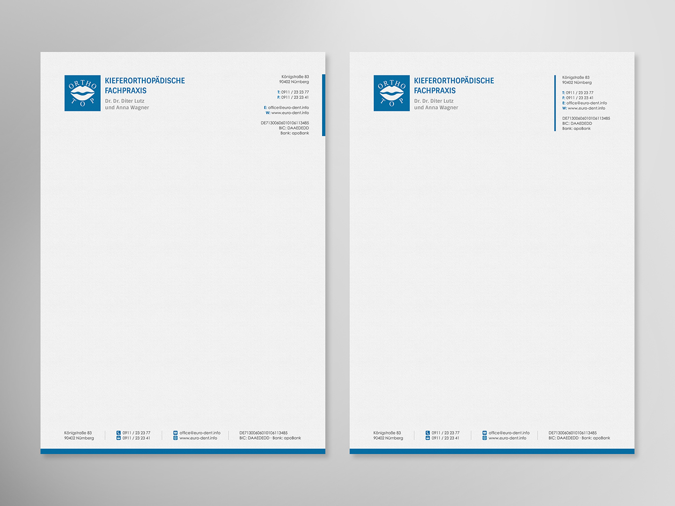 office letterhead design