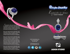 Brochure Design by ganz abecia - Tess Fine Jewelry store needs a Brochure Design