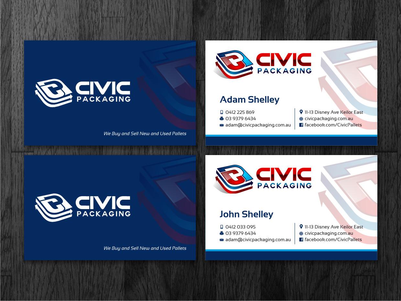 Elegant, Playful, Business Business Card Design for civic packaging ...