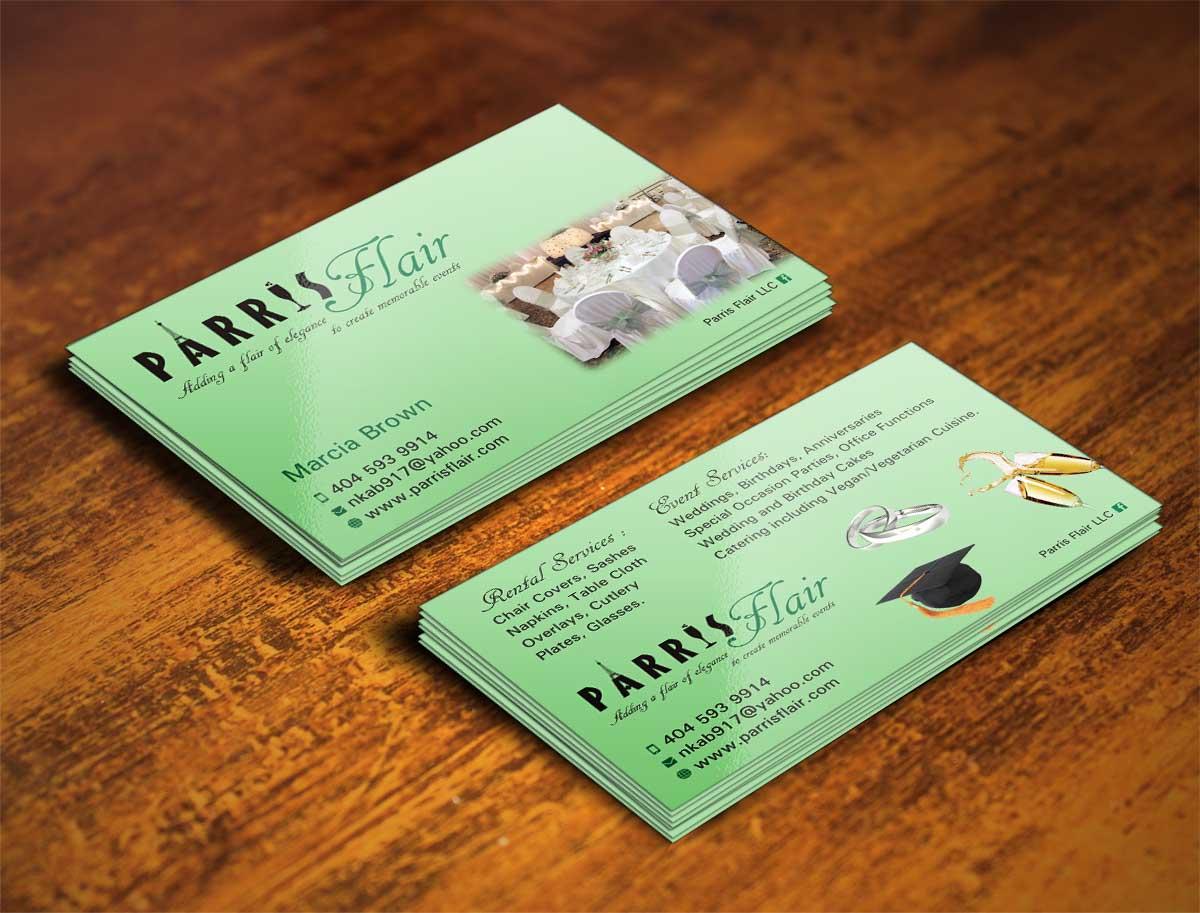 3 Professional Business Card Designs | Event Business Card Design ...