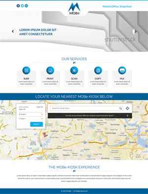 Web Design by Smart - MOBe Kiosk Webpage Design
