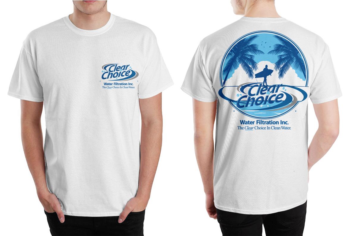 Elegant playful t shirt design for john throop by for Dc t shirt design