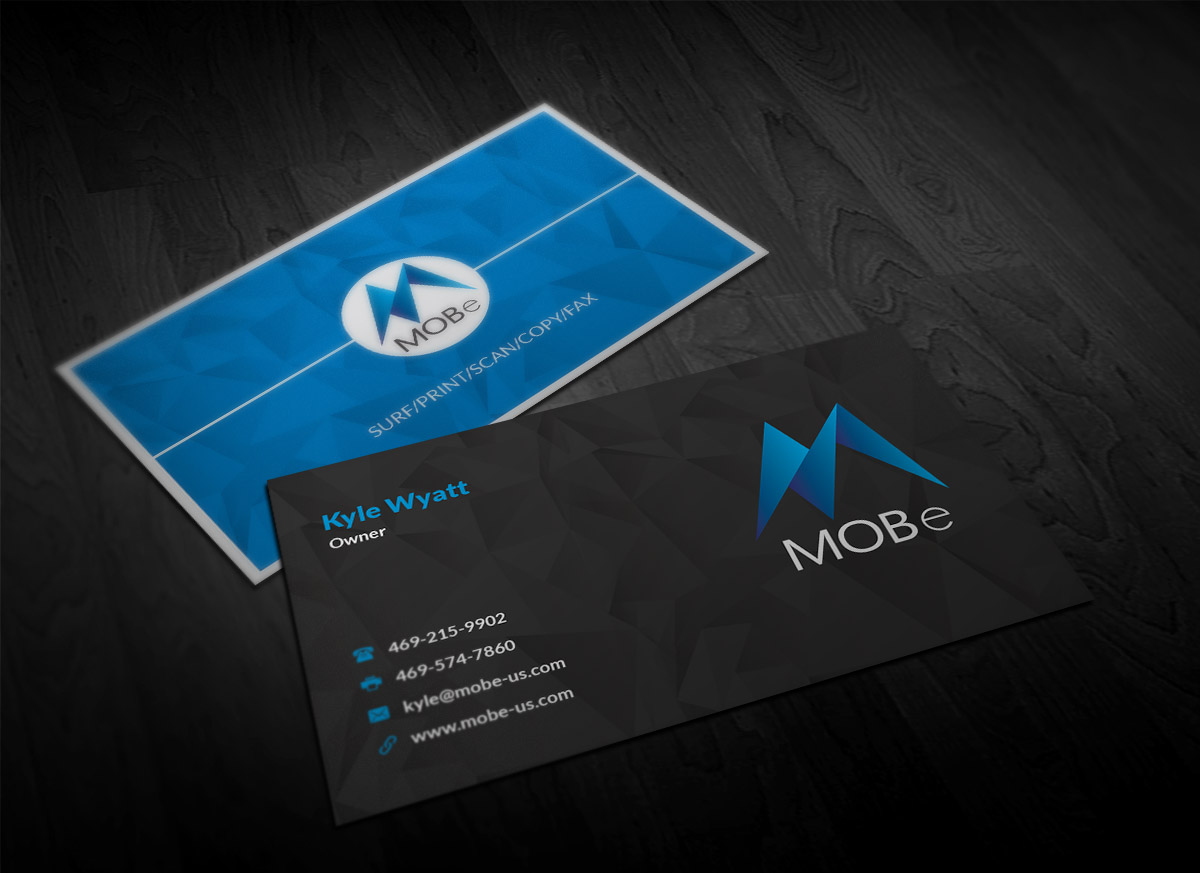Business Business Card Design for a Company by Designing Birds ...