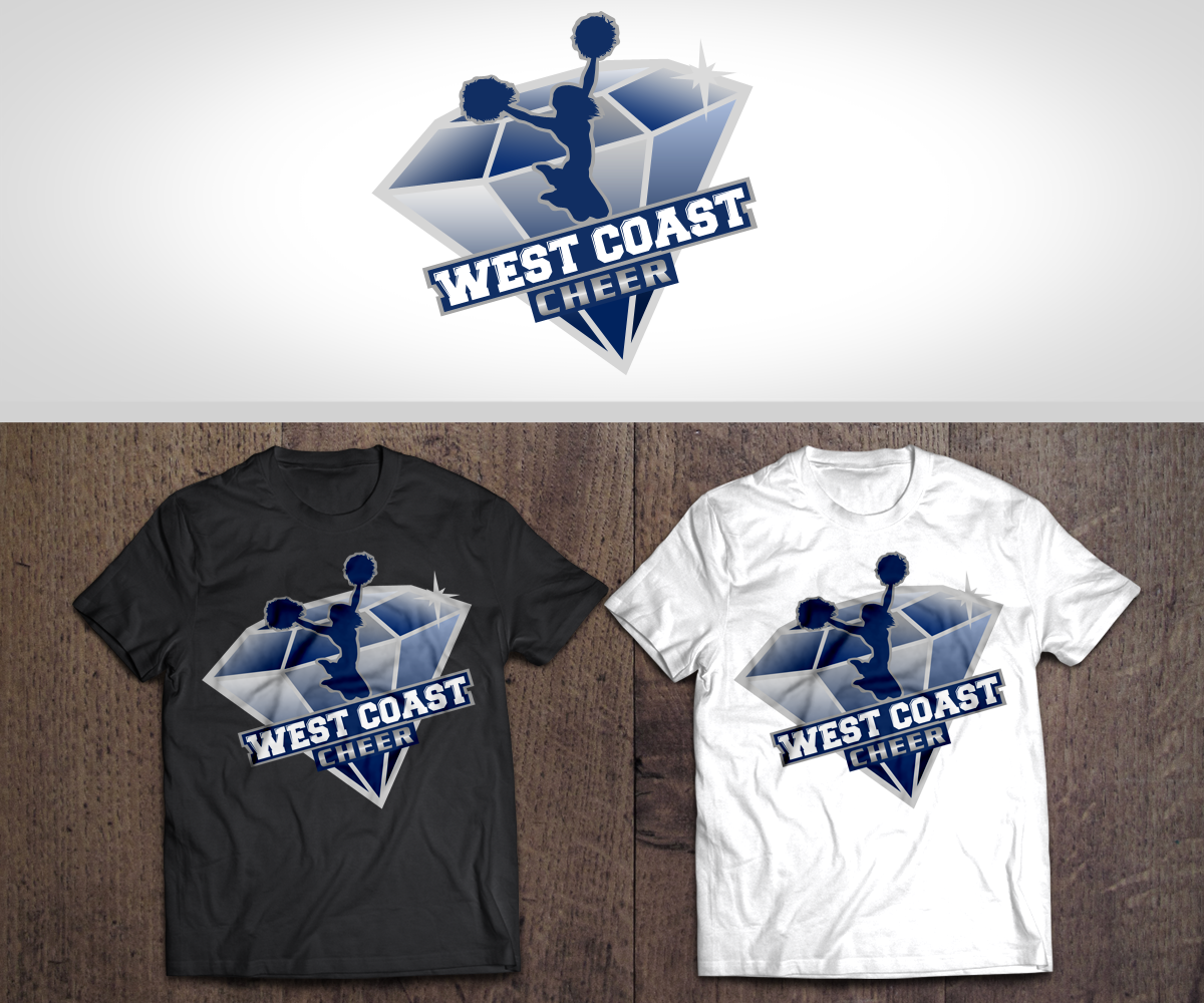 Bold and Playful Diamond Logo Design by Renen for a for a Youth Cheer Organization