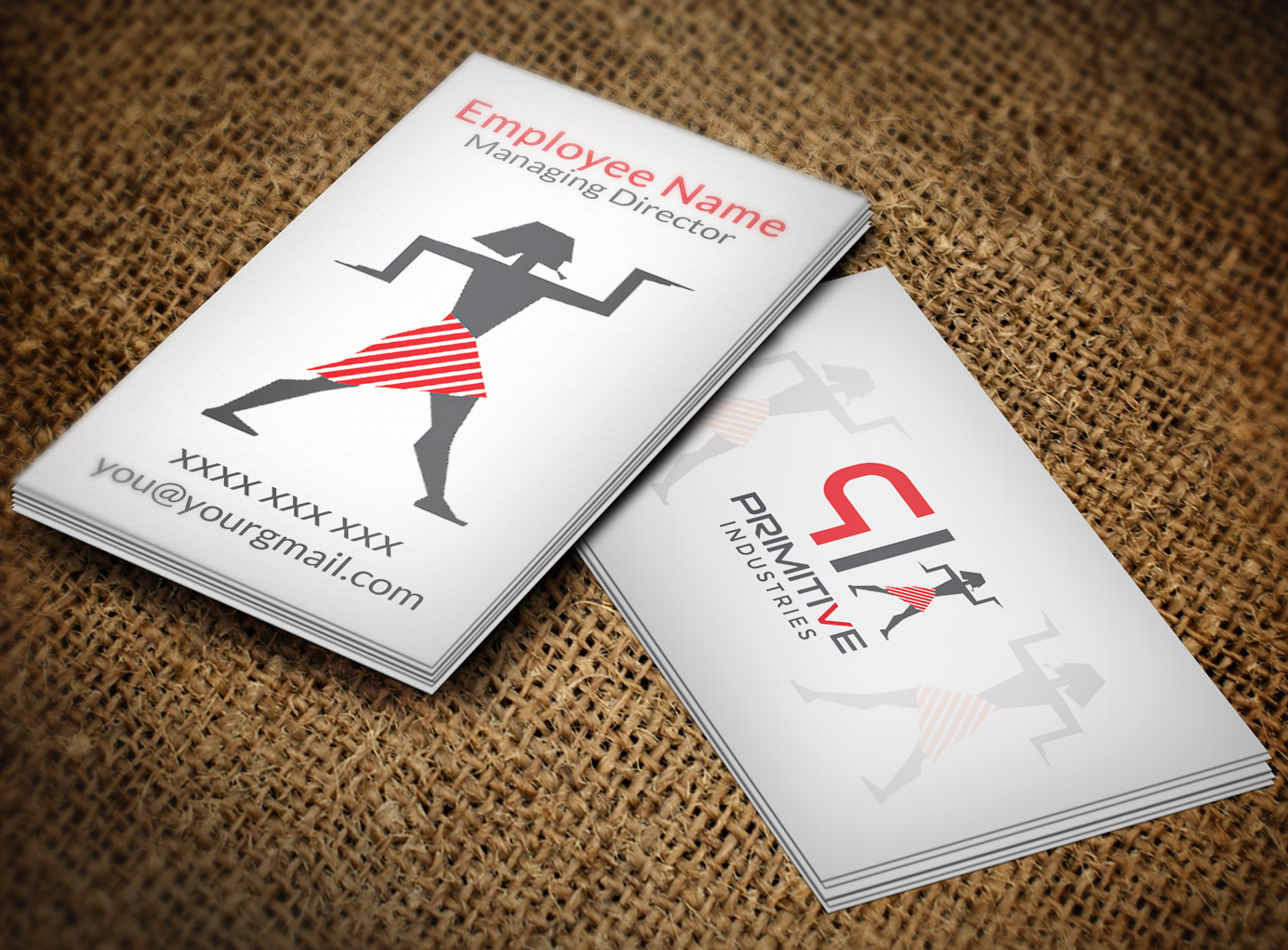 Bold serious business business card design for primitive bold serious business business card design for primitive industries in united states design 6113011 colourmoves