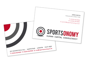 Logo Design job – Corporate Identity for Sportsonomy – Winning design by Nic