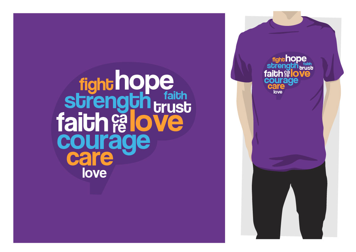Playful Personable Charity T Shirt Design For One Shirt