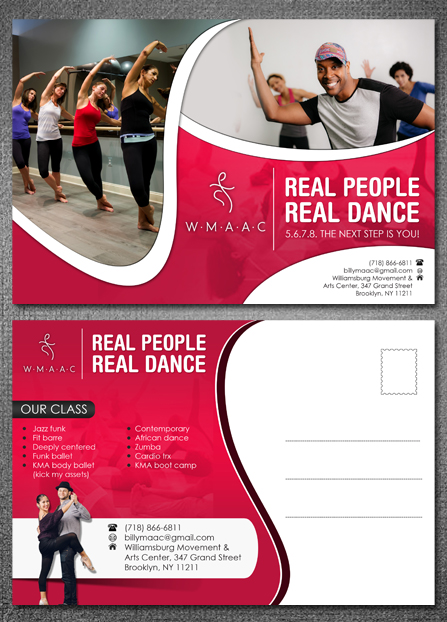 Feminine Modern Flyer Design For Wmaac By Hih  Design