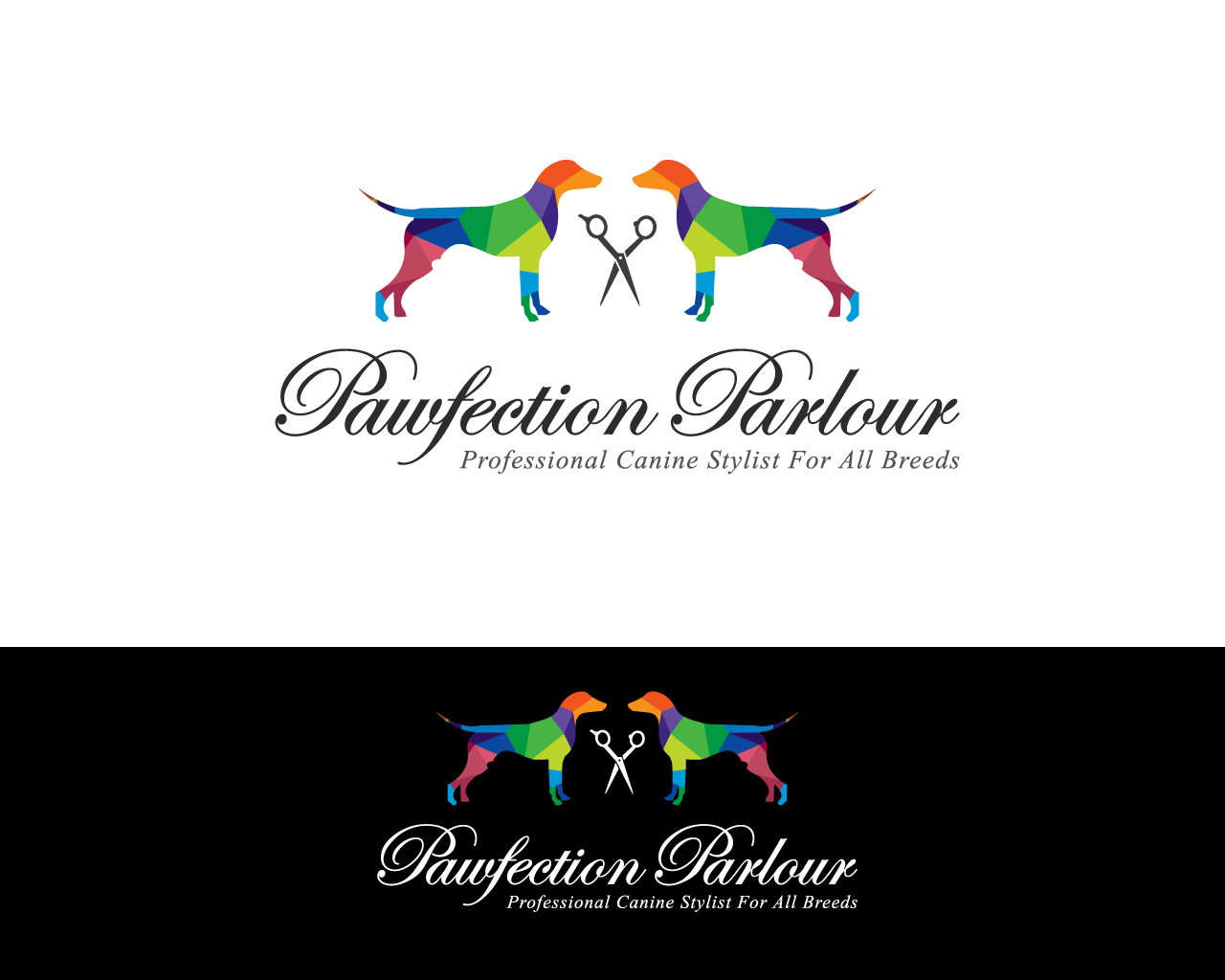48 Elegant Modern Pet Care Logo Designs for Pawfection Parlour a ...