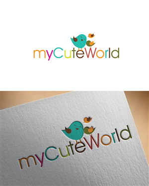 myCuteWorld | Logo Design by Nadeem