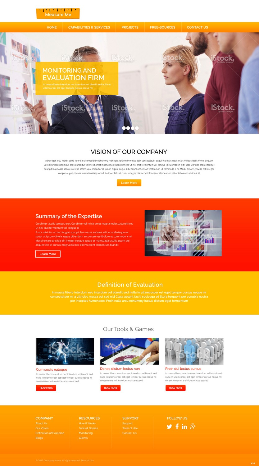 Modern, Colorful, Government Web Design for a Company by pb | Design ...