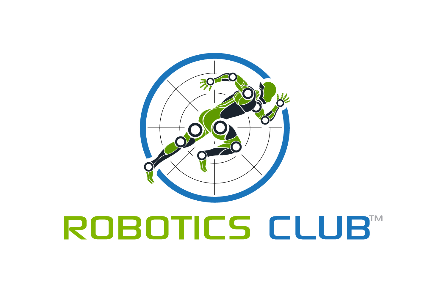 Professional Serious Club Logo Design For Robotics Club By Hih7