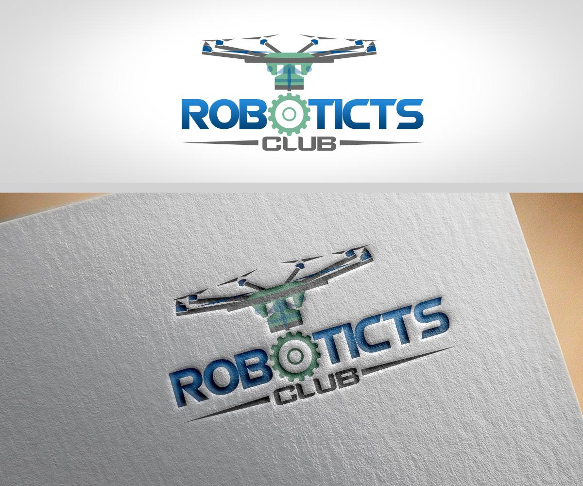 Professional Serious Club Logo Design For Robotics Club By Renen