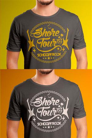 36 Modern T-shirt Designs | School T-shirt Design Project for Rock ...