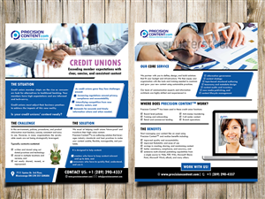 Brochure Design by Masha K - Content Management company needs a new brochure