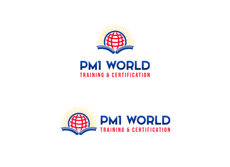 Education Logo Design for PM1World Training & Certification by EPIC ...