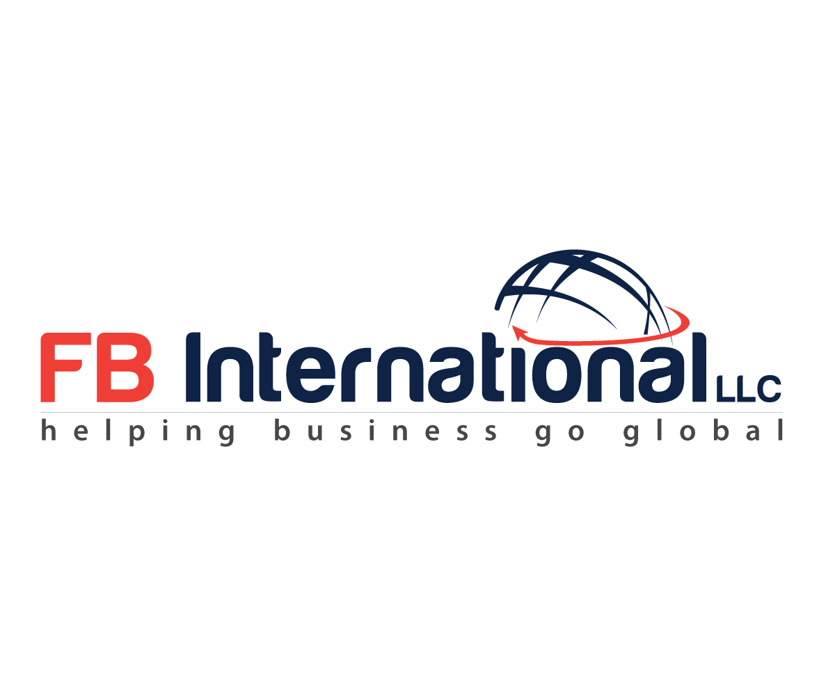 Professional modern logo design for fb international llc for Global design company