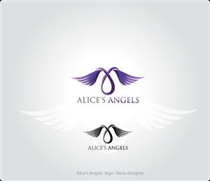Logo Design for Alice's Angels a Relay for Life Team - Logo Design by Hana