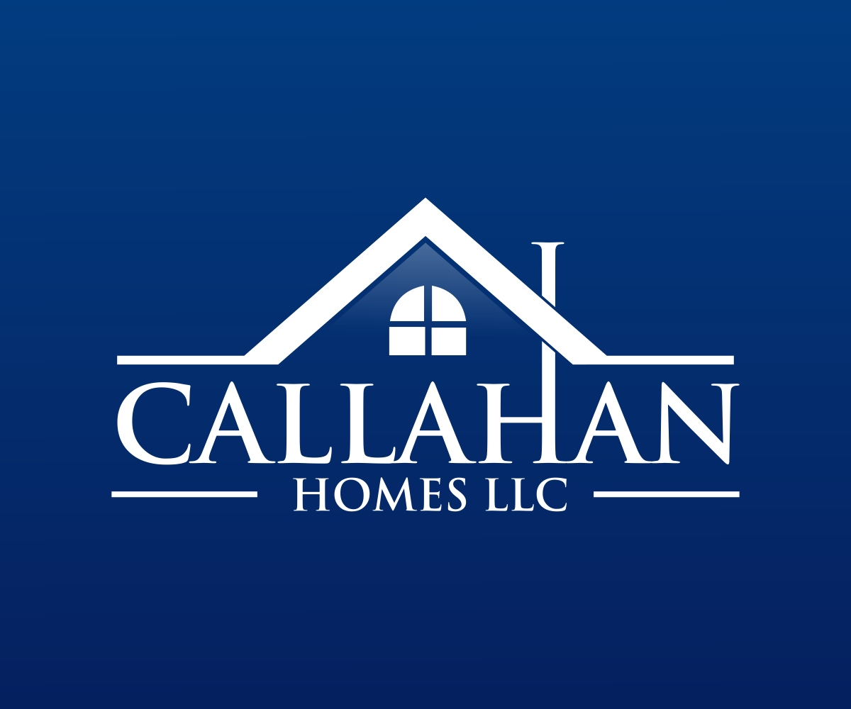 Professional elegant logo design for callahan homes llc for Design homes llc