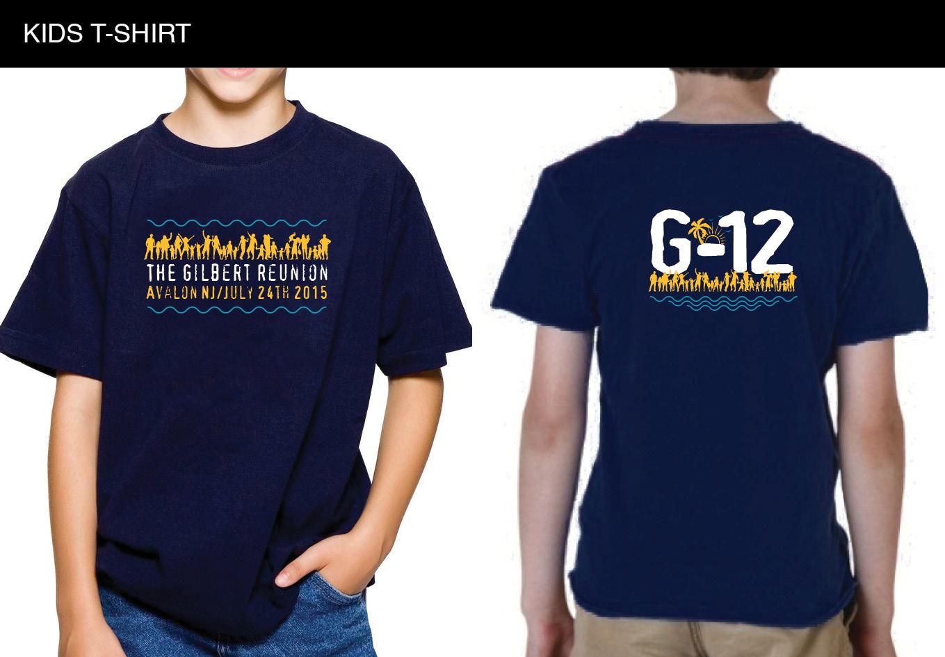 Design tshirt reunion - T Shirt Design By Pas Creative For Gilbert Reunion Shirt Design 6191374