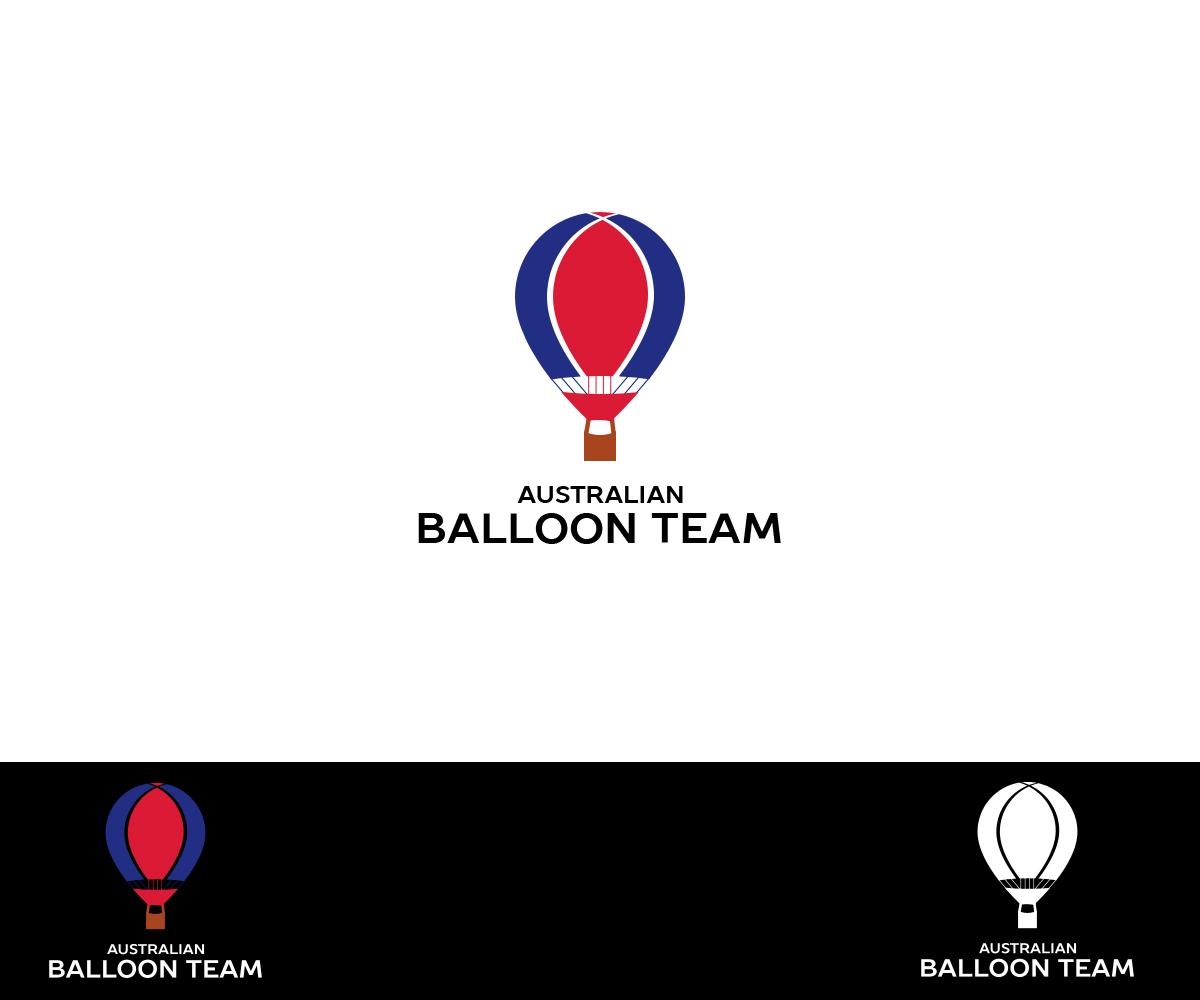 Modern bold logo design for australian balloon team by for Australian design firms