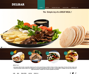 71 modern professional fast food restaurant web designs for Cuisine design industrie