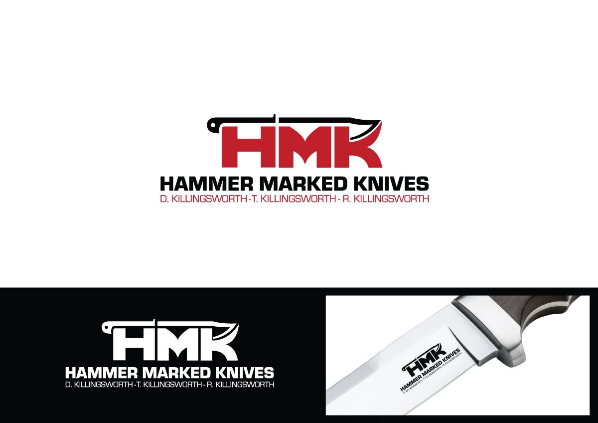 knife maker needs company logo/stamp/makers mark for custom