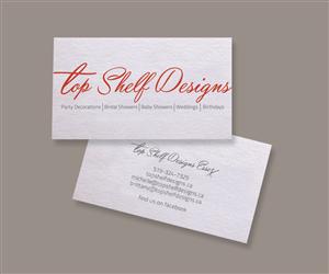 Business Card Designs For Top Shelf