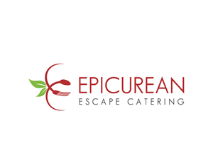Logo Design for Epicurean Escape Catering Logo by BlackWhite13