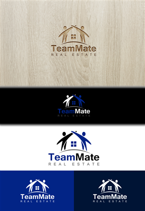 TeamMate Realty or TeamMate Real Estate | Logo Design by PixelAgent