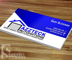 Business Card Design By Sanrell For This Project 6216899