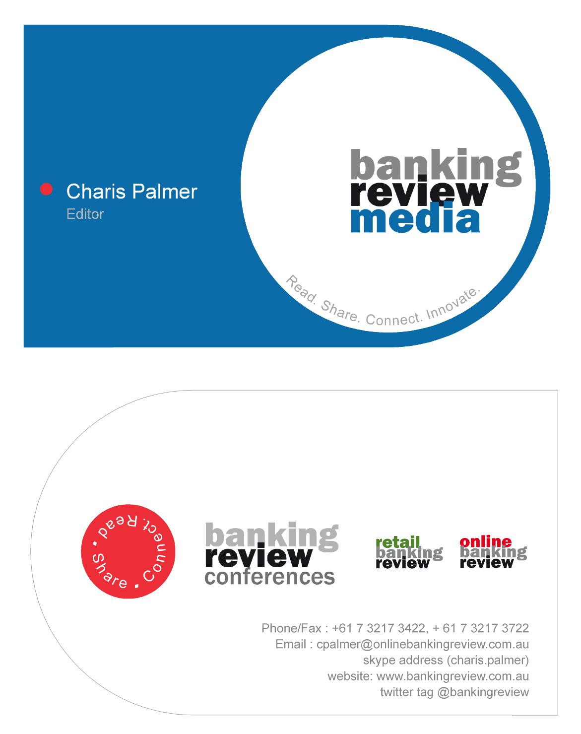 Overview designer manufacturer media reviews - Business Card Design By Ng Kia Hui For Business Card Design For Niche B2b Media Co