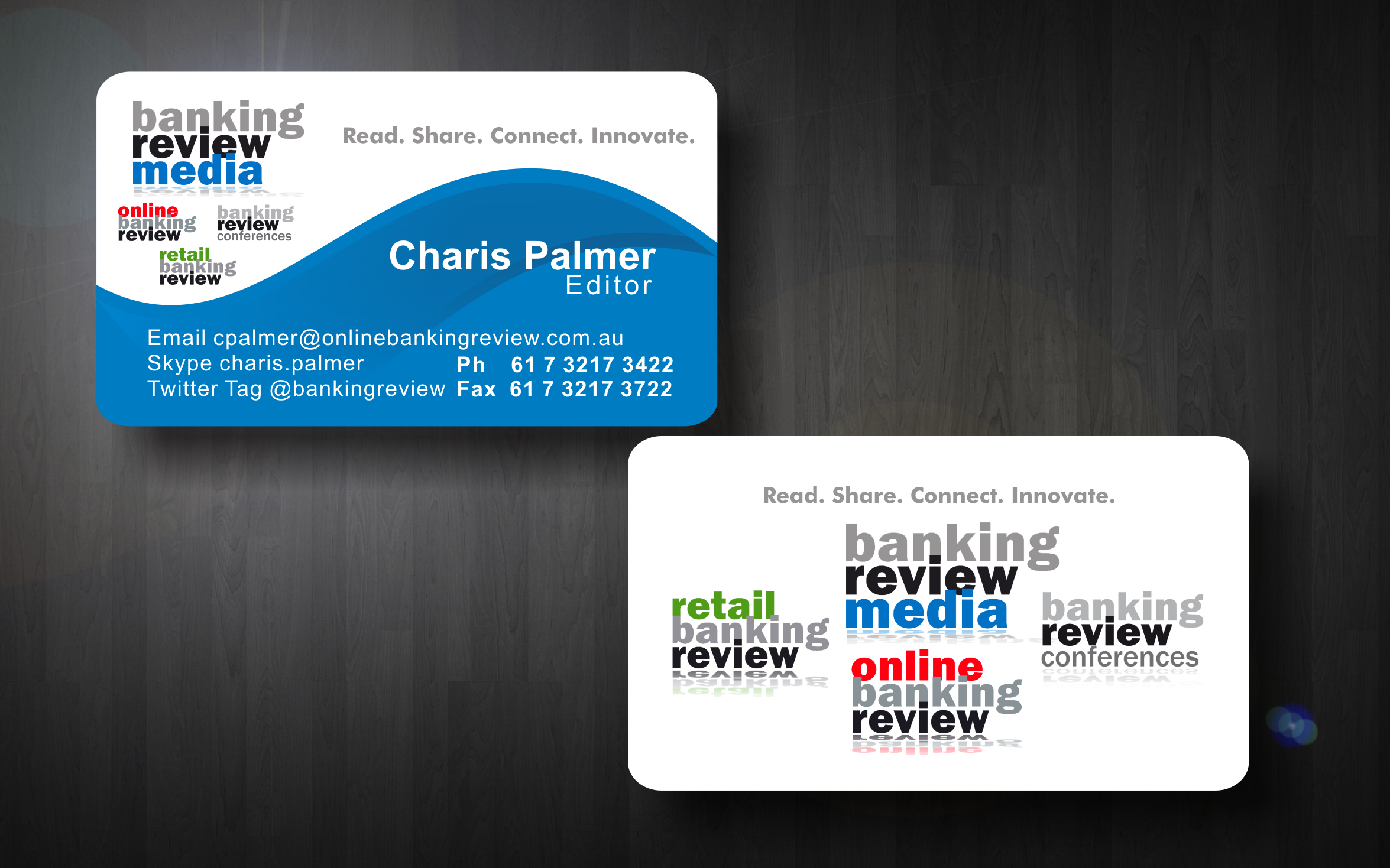 Business business card design for banking review media by siddkidd business business card design for banking review media in australia design 8942 reheart Gallery