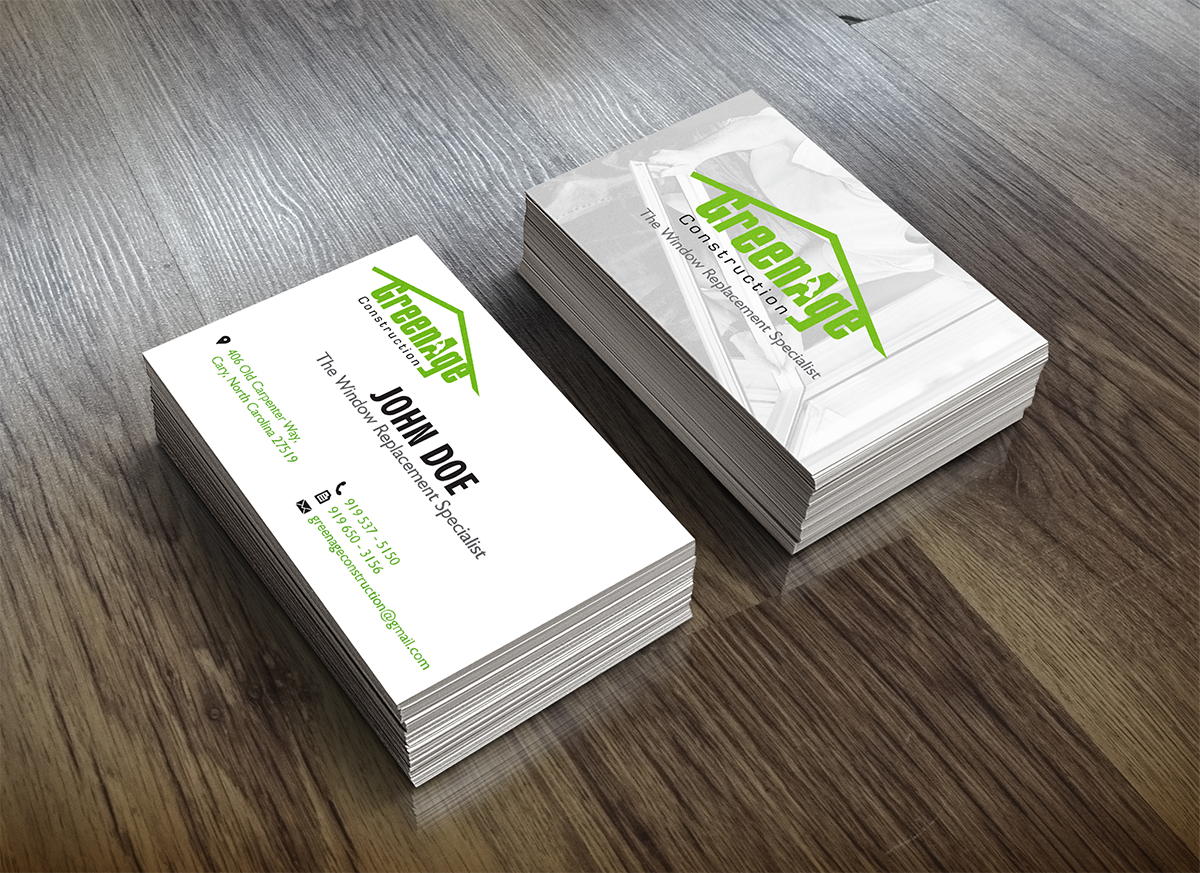 57 Business Card Designs | Construction Business Card Design Project ...