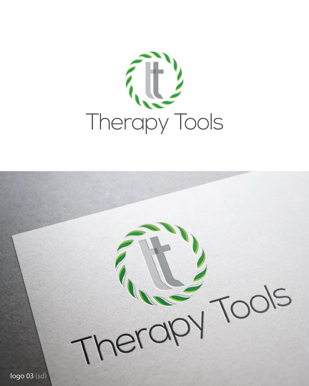 Modern Feminine Logo Design For Therapy Tools By Esolbiz