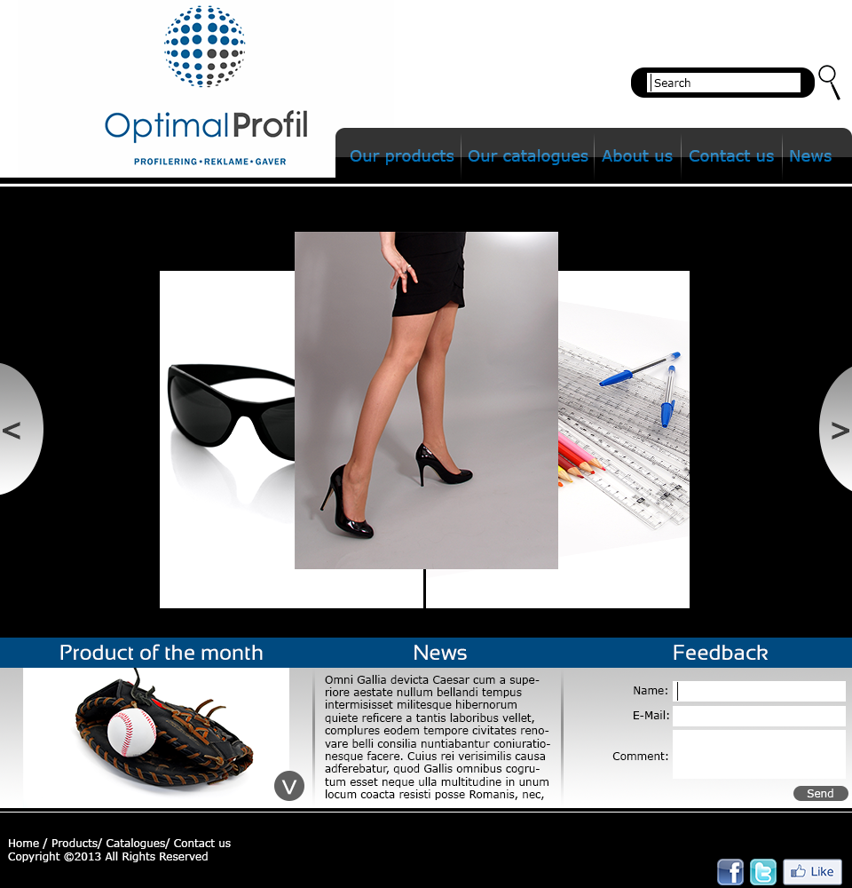 Serious, Professional, Advertising Wordpress Design for a