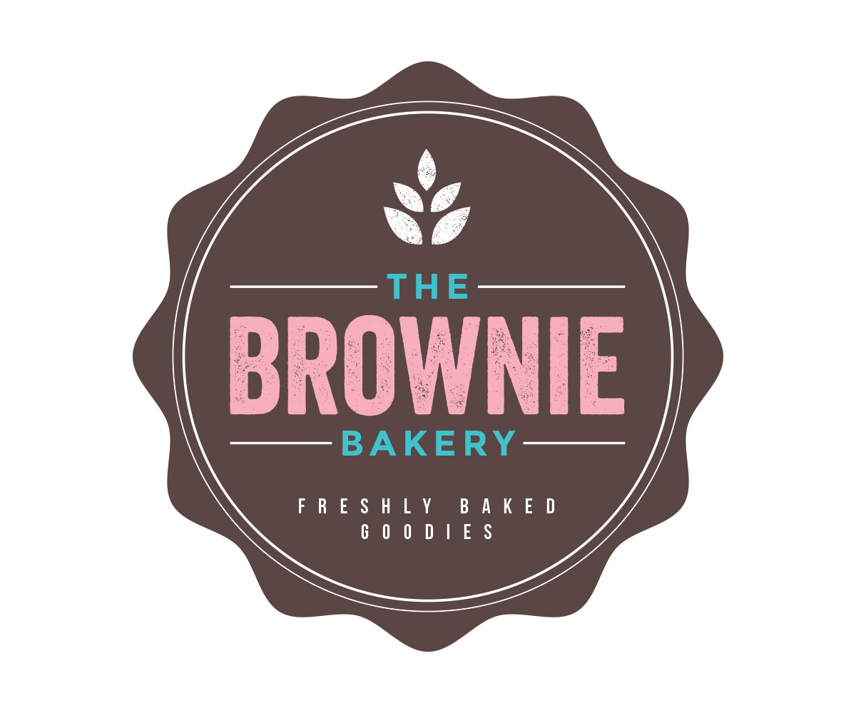 The Brownie Bakery Logo Design by JoGraphicDesign