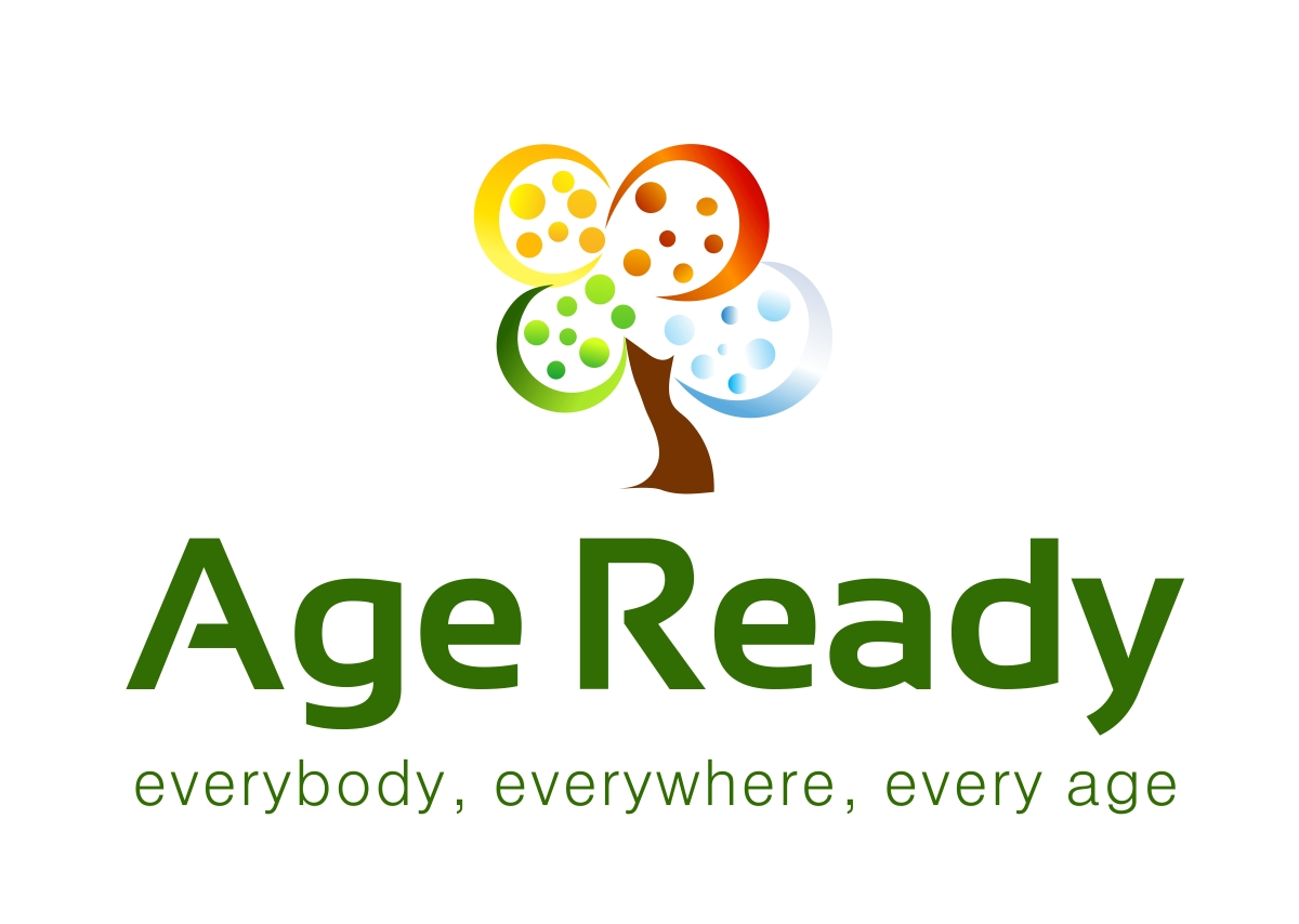 Bold serious non profit logo design for age ready by for T shirt printing for non profit organizations