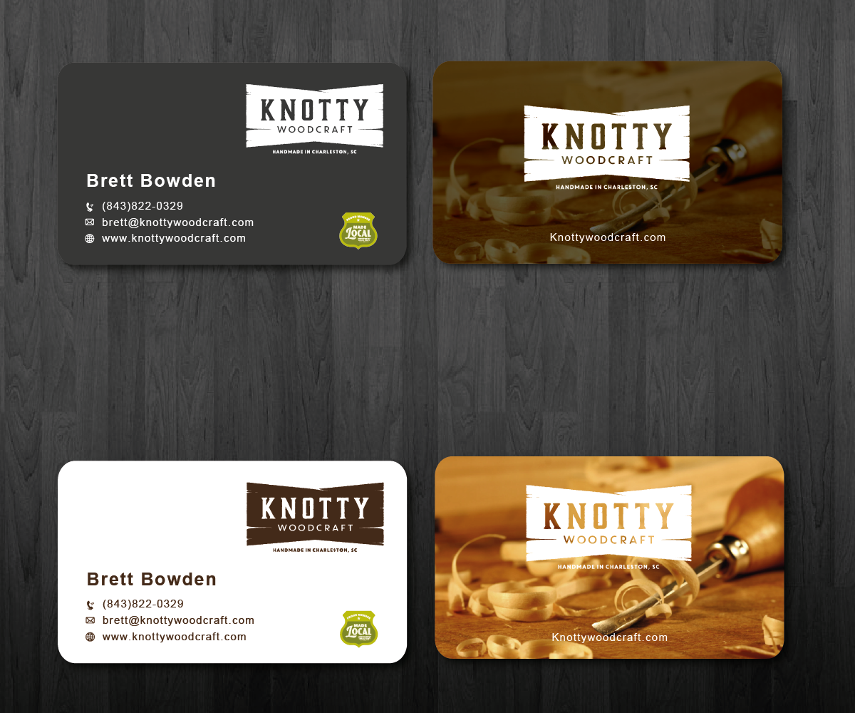 Masculine, Conservative Business Card Design for Brett Bowden by ...