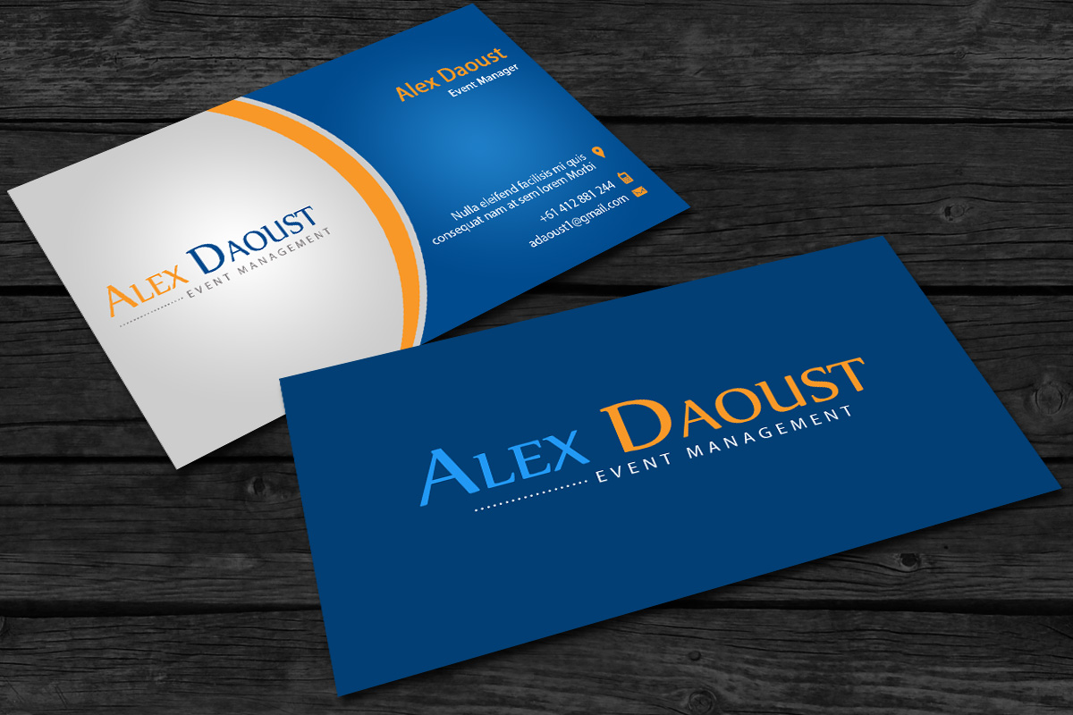 business card design by akwebdesigner for this project design 1675769 - Business Card Manager